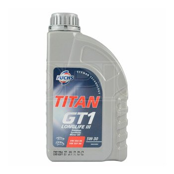 Fuchs TITAN Gt1 Longlife 3 III 5w 30 Synthetic Engine Oil 5w30 1 Litre 1l